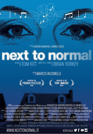 Poster Next to Normal